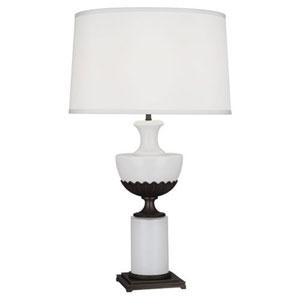 Williamsburg Ludwell Deep Patina Bronze One-Light Table Lamp