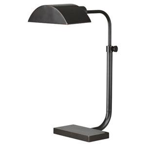 Koleman Deep Patina Bronze One-Light Desk Lamp