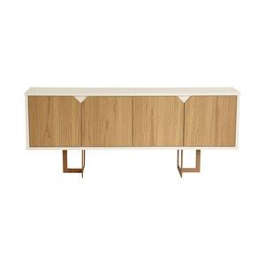 Knickerbocker Off White 6 Shelve Sideboard