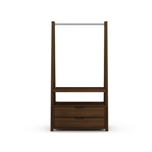 Rockefeller Brown Two Drawers Armoire