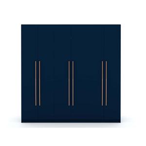 Gramercy Blue Storage Armoire