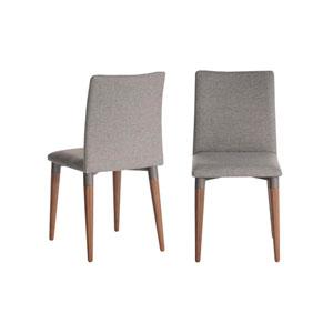 Grey 18-Inch Dining Chair