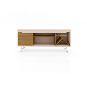 Baxter Off White and Cinnamon 54-Inch TV Stand