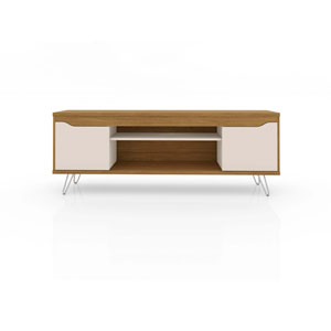 Baxter Cinnamon and Off White 63-Inch TV Stand