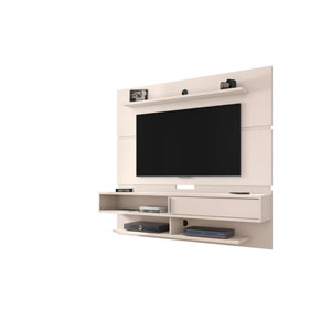 Astor Off White Floating Entertainment Center