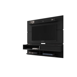 Astor Black Floating Entertainment Center