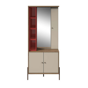 Gloss and Pro Touch Armoire with Mirror