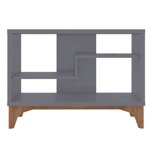 Gowanus Grey Two-Shelve Accent Table
