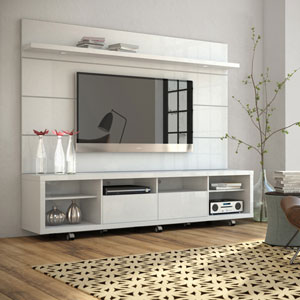 Cabrini White Gloss TV Stand