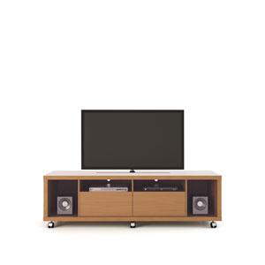 Cabrini TV Stand 1.8 in Maple Cream and Nude