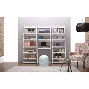 Carpina White Ladder Shelf