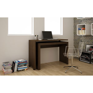 Calabria Tobacco Nested Desk
