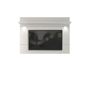 Cabrini White Gloss TV Panel