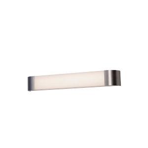 Allen Satin Nickel Three-Feet LED Bath Bar