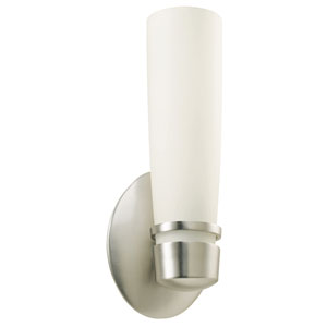 Aria Satin Nickel One-Light Wall Sconce