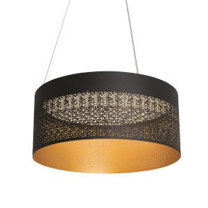 Ash Black 20-Inch LED Pendant