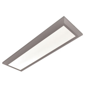 Atlas Satin Nickel 15-Inch LED Linear Troffer