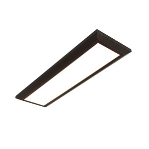 Atlas Oil Rubbed Bronze 27-Inch LED Linear Troffer