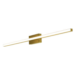 Barlow Satin Brass 24-Inch LED Bath Vanity