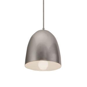 Brooklyn Silver 10-Inch One-Light Pendant
