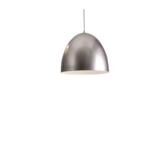 Brooklyn Silver 16-Inch One-Light Pendant