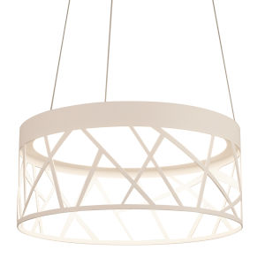 Boon White 20-Inch LED Pendant