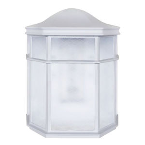 Bristol White LED Outdoor Wall Sconce