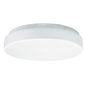 Cirrus White 12W 3000K LED Energy Star Flush Mount