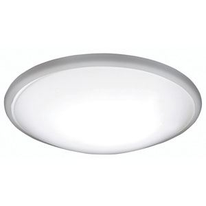 Capri Brushed Nickel 17W 3000K LED Energy Star Flush Mount