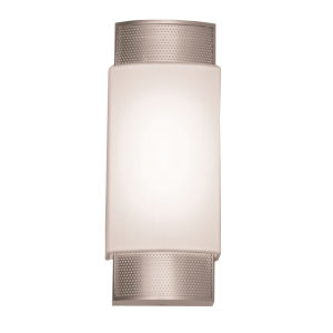 Charlotte Satin Nickel LED Wall Sconce