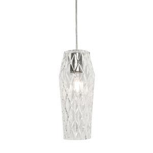 Candice Clear One-Light Mini Pendant