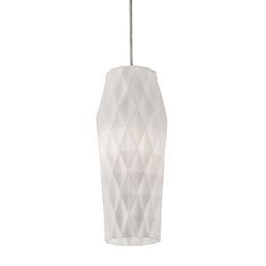 Candice White One-Light Mini Pendant