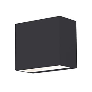 Dakota Black Four-Inch LED ADA Compliant Outdoor Wall Sconce