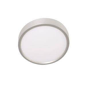 EdgeRound Satin Nickel LED Flush Mount
