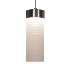 Elise Satin Nickel LED Pendant