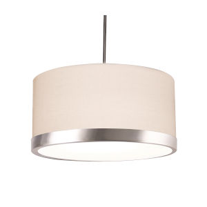 Evanston Satin Nickel LED Pendant