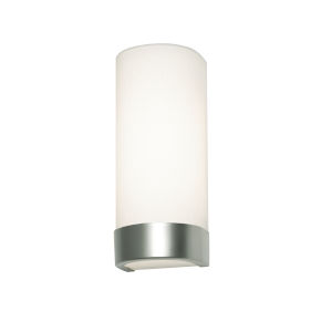 Evanston Satin Nickel Two-Light LED Outdoor Wall Sconce