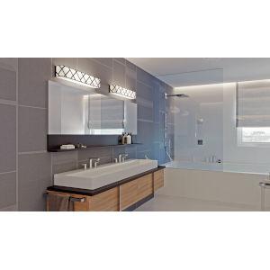 Haven Black 27-Inch LED Bath Vanity