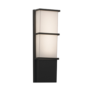 Lasalle Textured Bronze Three-Inch LED Sconce