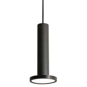 Luna Black Five-Inch LED Mini Pendant