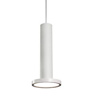 Luna White Five-Inch LED Mini Pendant