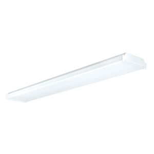LED Wrap White Two-Light Flush Mount