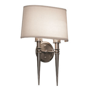 Montrose Satin Nickel Two-Light LED Wall Sconce