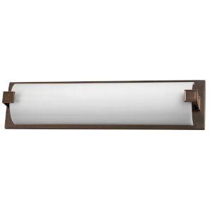 Nolan Rubbed Bronze Two-Light 120-227V Bath Vanity