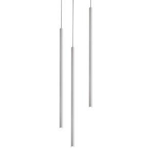 Point White Three-Light LED Mini Pendant