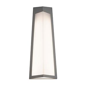 Pasadena Textured Grey Three-Inch LED Sconce