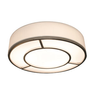 Reeves Satin Nickel 16-Inch LED Flush Mount