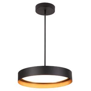 Reveal Black LED Pendant
