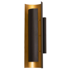 Reveal Black LED Wall Sconce