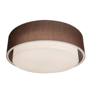 Sanibel Satin Nickel LED Flush Mount